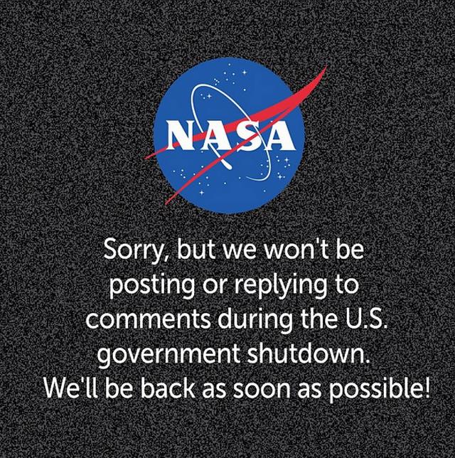 У США припинили роботу урядові сайти та сервіси #governmentshutdown