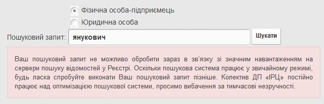 Тепер кожен може дізнатись, в яких компаніях Азаров та Янукович є засновниками