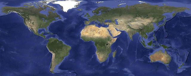 Google очистив від хмар Google Maps та Google Earth