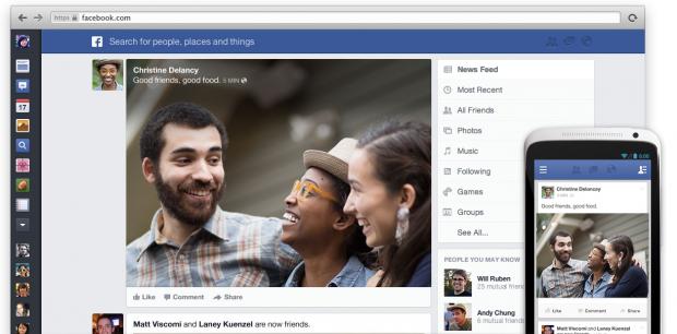 Facebook кардинально змінює свій дизайн (скріншоти)