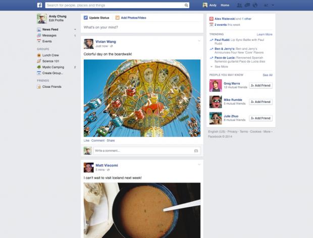 Facebook знову кардинально змінює дизайн
