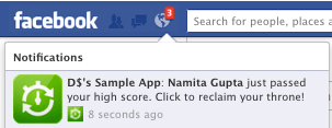 Facebook запускає Notifications API для додатків