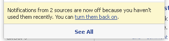 Facebook дозволяє відключити повідомлення від груп або друзів