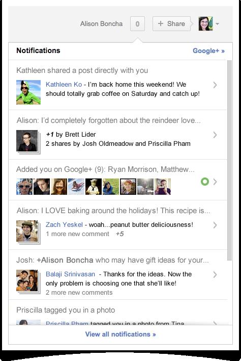 Google+ дозволив користувачам керувати стрічкою із записами