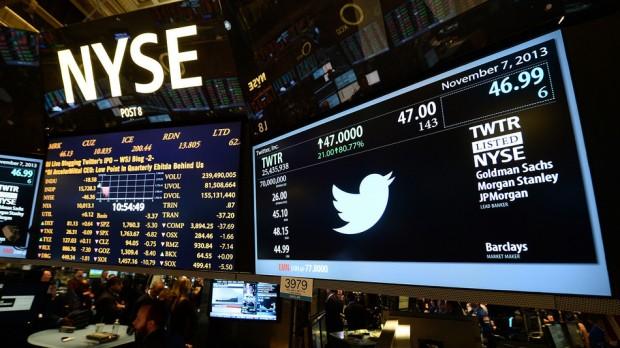 За один день Twitter подорожчав на $13 млрд