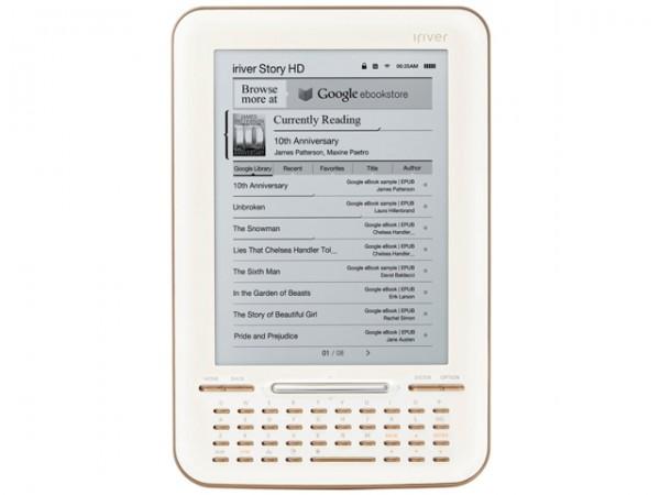 Google з iRiver випустили конкурента Kindle