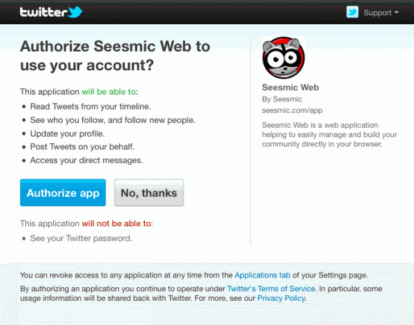 Twitter змінив правила доступу для сторонніх сервісів