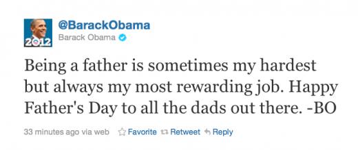 Обама зробив перший запис у Twitter
