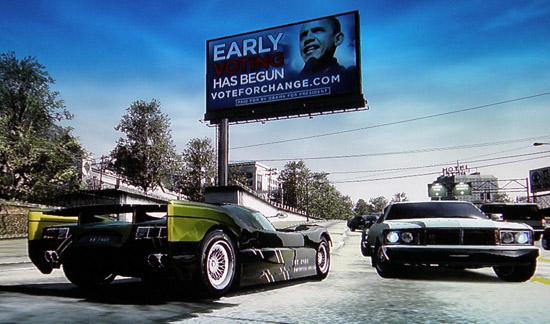 Ефективність реклами Барака Обами в комп'ютерних іграх виявилась доволі високою