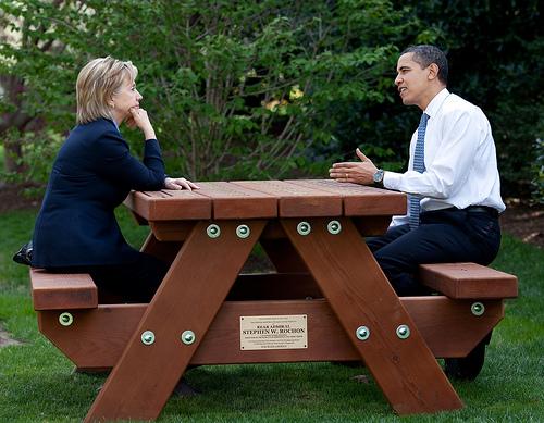 Обама піарить свій канал на Flickr