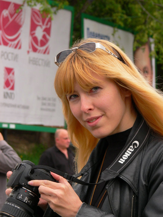 Міліція обшукала відому українську блогерку