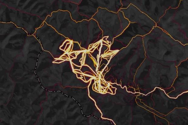 Карта: де українці займаються спортом   бігають, плавають та їздять на лижах та велосипедах