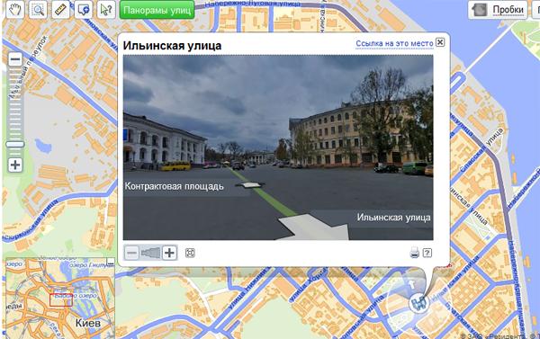 Яндекс запустив панорами Києва і шукає лосів (updated)
