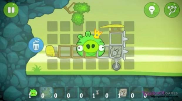 З точки зору свиней: творці Angry Birds   Rovio   показують геймплей гри «Bad Piggies»