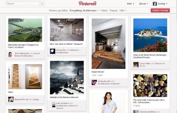 Pinterest почав генерувати більше трафіку, ніж Twitter