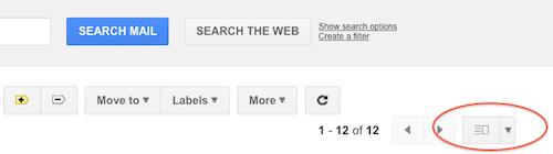 Gmail отримав отримав інтерфейс Preview Pane