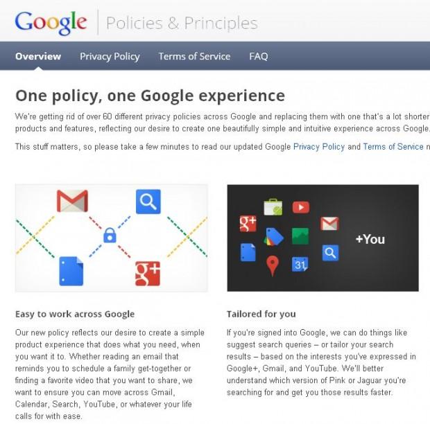Google стежитиме за користувачами на всіх сервісах