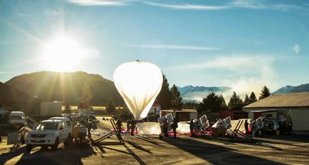 Google роздаватиме інтернет через повітряні кулі