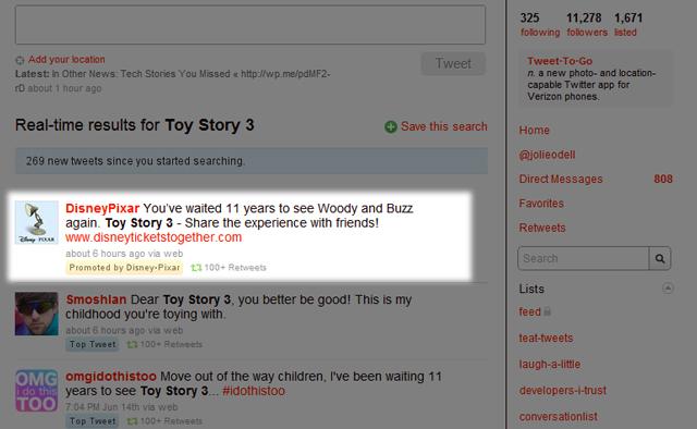 Історія Іграшок в Твіттері