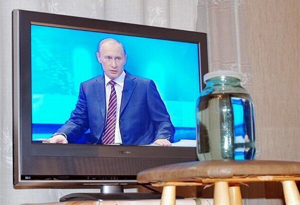 Як Твітер реагував на пряму лінію Путіна