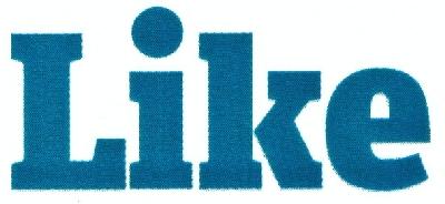 В Україні зареєстрували торгову марку Like (оновлено)