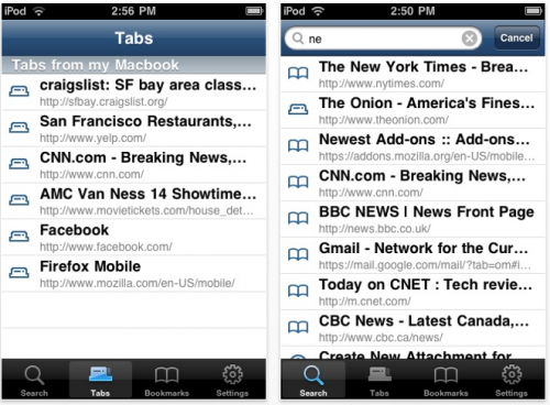 Firefox випустив додаток для iPhone