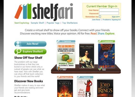 Amazon придбав соціальну мережу любителів книг Shelfari