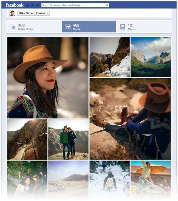 Facebook змінює вигляд секції з фото
