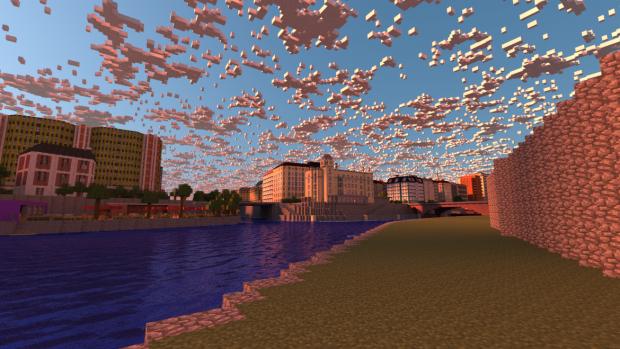 Гравці Minecraft створили копію Відня за допомогою піксель арту