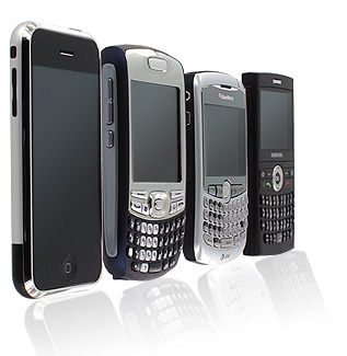 В I кварталі 2011 року в Україну завезли 340 тис. смартфонів