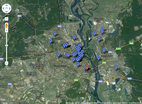 В Києві створили карту кафе та ресторанів, в яких не курять