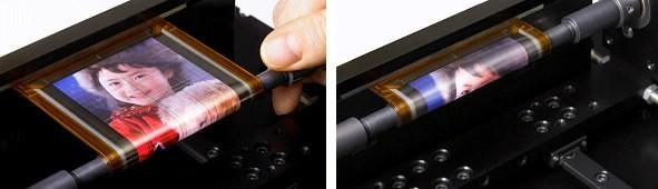 Sony навчилась скручувати дисплеї в трубочку