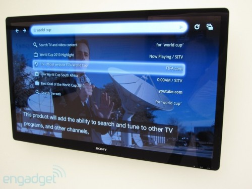 Google TV зявиться в продажі цієї осені