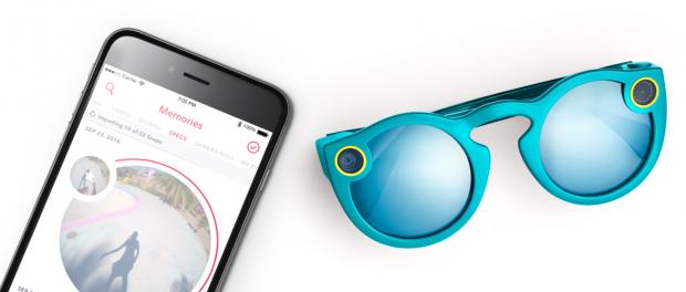 Компанія розробник месенджера Snapchat випустить окуляри з вбудованою камерою