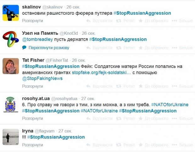 МЗС запустив Твітер штурм #StopRussianAggression