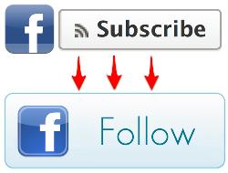 Facebook змінює кнопку Subscribe на Follow