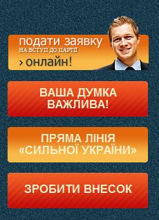 Тігіпко запустив сайт партії Сильна Україна