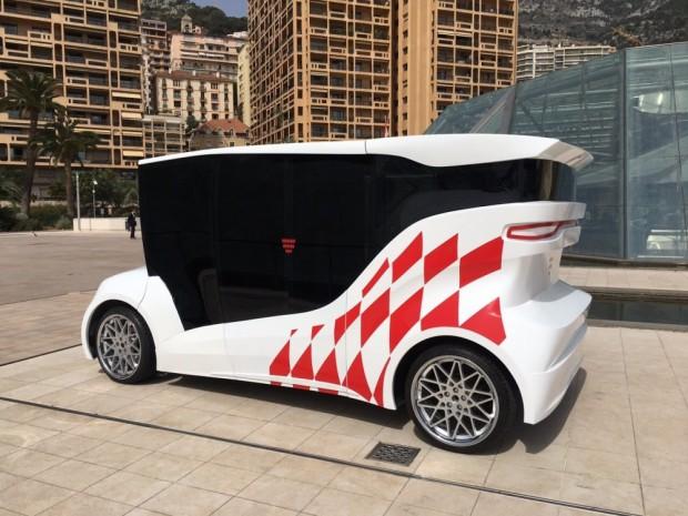 В Монако презентували перший український електрокар