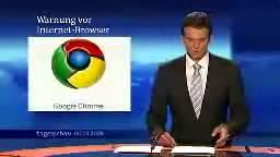 Влада Німеччини радить не користуватись браузером Google Chrome Grome