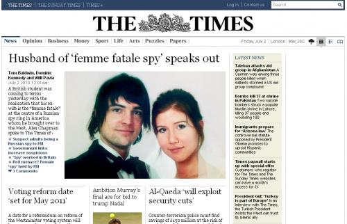 Сайт газети Times став повністю платним