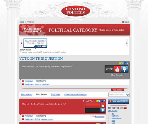Майкрософт запустив інтернет платформу для політиків
