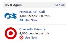 Facebook «нагадує» повернутися до неігрових додатків