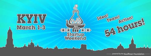 1 3 березня в Києві відбудеться Startup Weekend