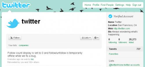 Twitter обнулив кількість фоловерів у всіх користувачів (updated)