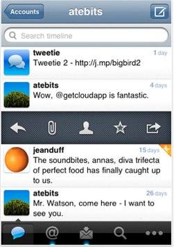 Twitter придбав Tweetie, і робить його безкоштовним