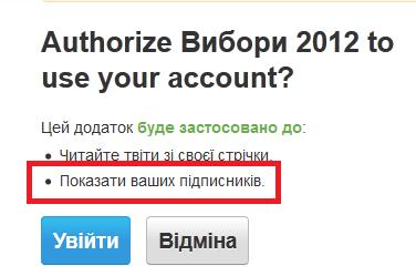 Для чого сайту vybory2012.gov.ua доступ до ваших аудіозаписів та переліку ваших друзів?
