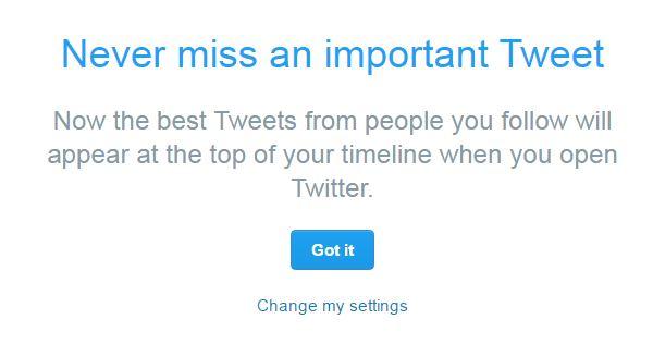 Twitter змінив алгоритм формування стрічки для всіх користувачів
