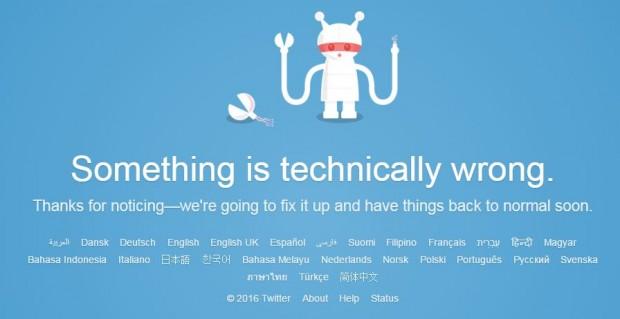 Twitter не працює по всьому світу (оновлено)