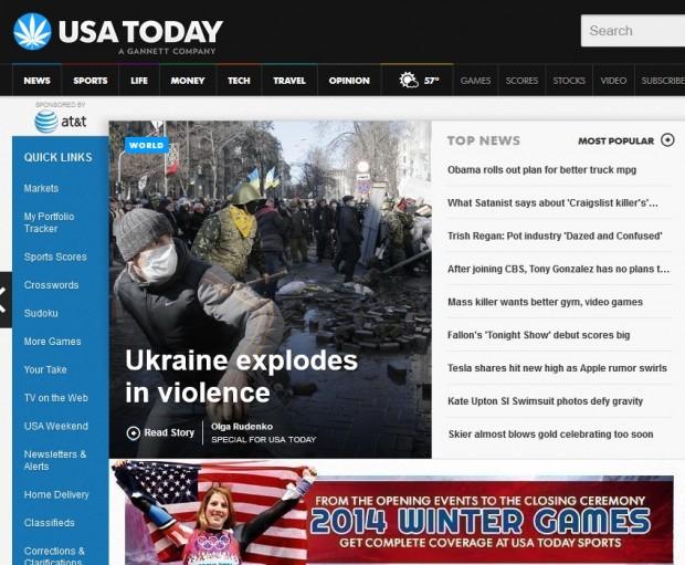 Події в Україні стали темою №1 для всіх найбільших онлайн видань світу