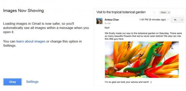 Gmail почав показувати вбудовані зображення в листах